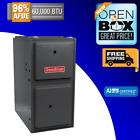 Goodman 60k BTU 96% AFUE Upflow Horiz Gas Furnace GMES960603BN Scratch&Dent New