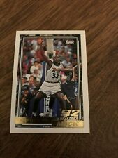 New listing 1992-93 TOPPS GOLD SHAQUILLE O'NEAL RC SHAQ ROOKIE CARD.