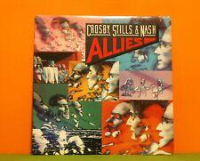 CROSBY STILLS & NASH - ALLIES - ATLANTIC 1983 WITH LINER EX/EX VINYL LP RECORD
