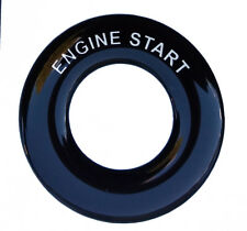 ENGINE START - Lucas Toggle Switch Round Dash Tag - Classic Car Kit Hot Rod