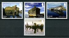 Falkland Islands 2017 MNH Wrecks Pt I Acteon 4v Set Shipwrecks Ships Stamps