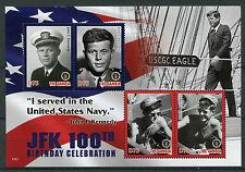 Gambia 2017 MNH JFK John F Kennedy 100th Birthday 4v M/S I US Presidents Stamps