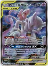 Mewtwo & Mew Tag Team GX SM191 Black Star Promo Holo Mint Pokemon Card