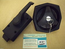CARAVAN / MOTORHOME - Left Hand Door Lock Kit – FAP 01508T42199 – Black