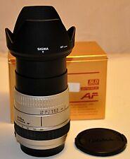 CANON AF (pour) SIGMA 3.5-5.6/28-200mm DL Hyperzoom Macro Asphérical SLD SILVER