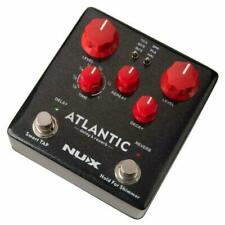 NUX NDR-5 Atlantic Delay and Reverb Guitar Effects Pedal
