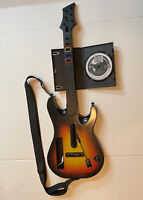 GUITAR HERO Wii Sunburst Guitar Hero World Tour Controller+Guitar Hero 3 Game