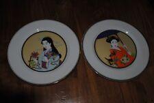 assiettes japonaises décoration