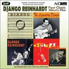DJANGO REINHARDT - FOUR CLASSIC ALBUMS (DJANGO/DJANGO/THE LEGENDARY DJANGO/DJANG