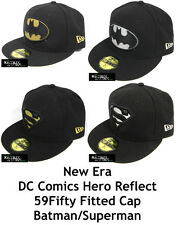 NEW ERA DC COMICS HERO REFLECT 59FIFTY FITTED CAP - BATMAN/SUPERMAN