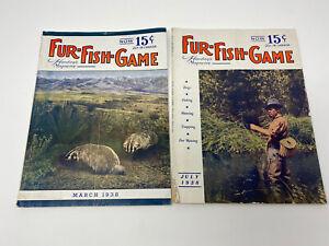 1938 Hardings Fur Fish Game Magazine