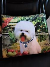 Art Bichon Frise Pet Women Handbag