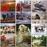 DIY Animal Scenery Paint By Number Kit Digital Oil Painting Art Wall Home Decor