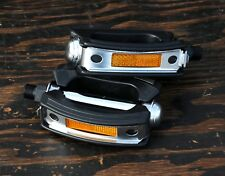 """9/16"""" Classic Cruiser Bike FatBow PEDALS Vintage Dyno Bicycle Nirve Felt Electra"""