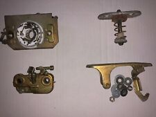genuine porsche 911 912 930 hood latch upper lover lock mechanism rear set up 84