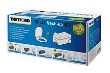 Toilettentank Thetford Toiletten fresh up Set  für Toilette C2  3 + 4 RECHTS