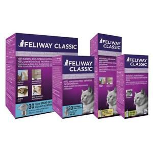 FELIWAY Calm Cat Classic Plug In Diffuser, Refill And Spray Calming Pheromones