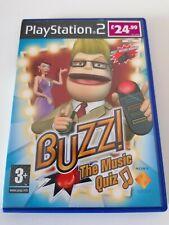Playstation 2 ps2 Spiele Buzz Das Musik Quiz komplett Handbuch Familie Spaß Free p&p