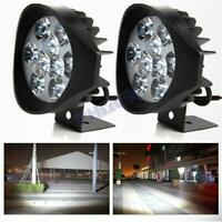 4 inch 2x LED Work Light Headlight 90W Spot Beam For Motorcycle ATV Truck Pickup
