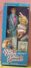 Famiglia Cuore Papa' con bimba Mattel 4662 Heart Family Bambola Fashion Doll