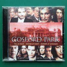 Patrick Doyle GOSFORD PARK Film Soundtarck Score OST CD Robert Altman Clive Owen