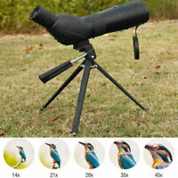 15-45x60 HD Monocular Telescope Night Vision Target Bird Watching with Tripod US