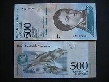 Venezuela 500 bolívares 18.8.2016 (PNEW) UNC