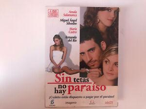 SIN TETAS NO HAY PARAISO PACK 4 DVD PRIMERA 1ª TEMPORADA  MIGUEL SILVESTRE AM