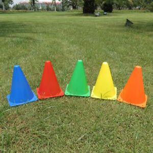 Sport Training Cones Marker Safety Soccer Football Rugby Barrier Tool