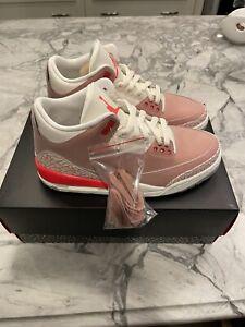 Air Jordan 3 Retro Rust Pink (W) - CK9246-600 - Size W8.5 / M7