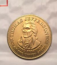 1992 SHELL PRESIDENTIAL COLLECTOR COINS. - Thomas Jefferson