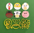 Farm Animals Kit Cookie Cutters 3DPrinted High Quality Cake Cupcake Decoration
