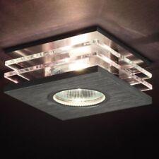 Foco Empotrable Lámpara Anguloso Aluminio Pulido Portalámparas Mr16