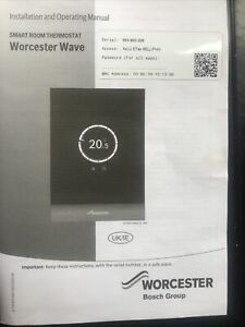 Worcester Bosch Wave Smart Heating And Hot Water Control