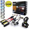 Xenon 55W HID Headlight Conversion KIT Bulbs H1 H3 H4 H7 H11 9005 9006 9007 880