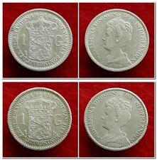 Netherlands - 1 Gulden 1914 - 1915