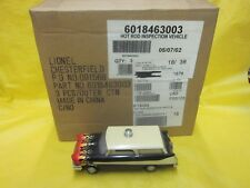 LIONEL TRAIN 3 HOT ROD INSPECTION VEHICLES SEALED  ( 6-18463 )