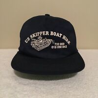 UB Skipper Boat Hire Australia Fishing Vintage 90's Adult Mens Baseball Hat Cap