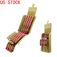 MOLLE 25 Rounds Tactical Shell Cartridge Ammo Pouch Holder Fits 12 Gauge Shotgun