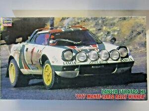 Hasegawa 1:24 Scale Lancia Stratos HF 1977 Monte Winner Model Kit New Kit #25032