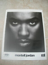 Montell Jordan B&W 8x10 Promo Photo Picture This is How We Do It