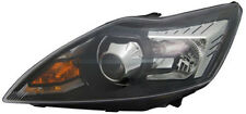 Black clear finish LEFT side D1S / H1Xenon headlight for FORD Focus II from 08