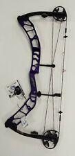 "Elite Archery Emerge Compound Bow Right Hand 30# to 40# 24"" draw satin purple"