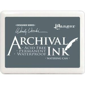 JUMBO SIZE Ranger Wendy Vecchi Archival Ink Pad - Watering Can