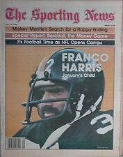 1980 THE SPORTING NEWS w/ FRANCO HARRIS (PITTSBURGH STEELERS) COVER