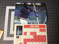 Rare! 1985 CLEVELAND INDIANS baseball Calendar out of print photo poster