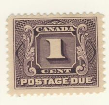 Canada Stamp Scott # J1 1-Cent Postage Due MNH