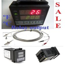 Dual Display Ac Pid Digital Temperature Controller For Kiln Furnace Oven Coffee