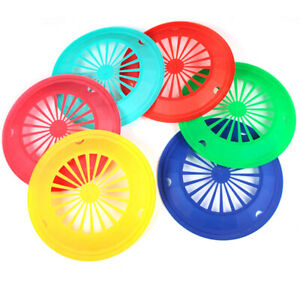 10Pcs BBQ Paper Plate Holder Plastic Dinner Plates Reusable Barbecue T-new