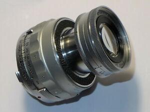 LEITZ Leica M Elmar 9 cm 1:4 - Collapsible # 1236548... from 1955